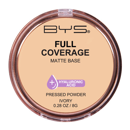 BYS - Full Coverage Pressed Powder Ivory
