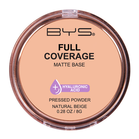 BYS - Full Coverage Pressed Powder Natural Beige