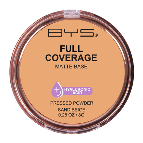 BYS - Full Coverage Pressed Powder Sand Beige