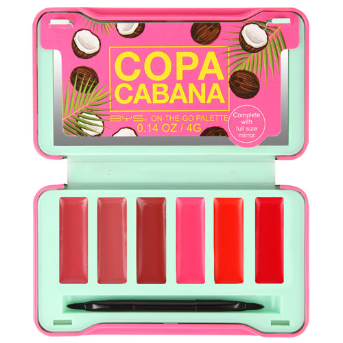 BYS - Copacabana On-The-Go Lip Palette
