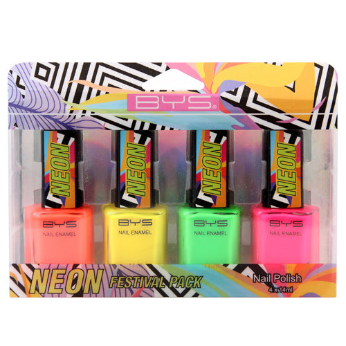 BYS - Neon Nail Polish Collection