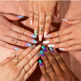 L.A. Colors - Nail Vibe Nail Kit Free Spirited