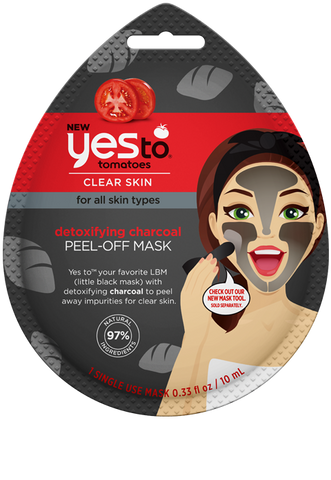 Yes To - Tomatoes Detoxifying Charcoal Peel-Off Mask