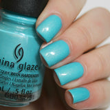 China Glaze 2016 Lite Brites 'What I Like About Blue'