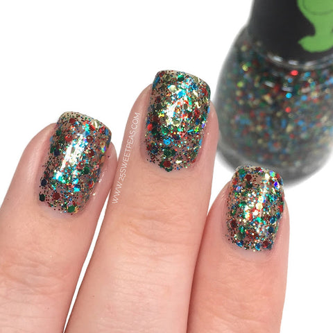 China Glaze Grinch Collection - Resting Grinch Face