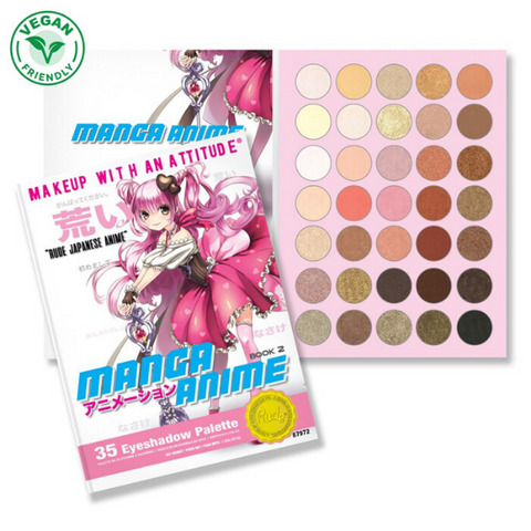 Rude Cosmetics - Manga Anime Book 2 Palette