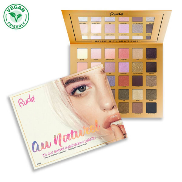 Rude Cosmetics - Au Naturel Palette