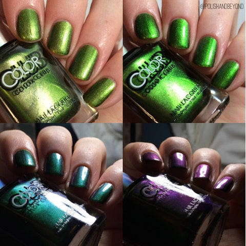 Color Club 2015 Oil Slick 'Don't Kale My Vibe'