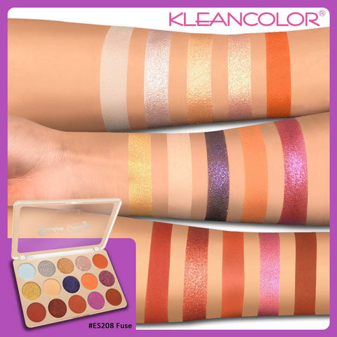 Kleancolor - Shadow Collage Palette Fuse