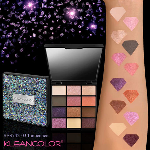 Kleancolor - Diamond Crush Palette Innocence