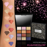 Kleancolor - Diamond Crush Palette Courage