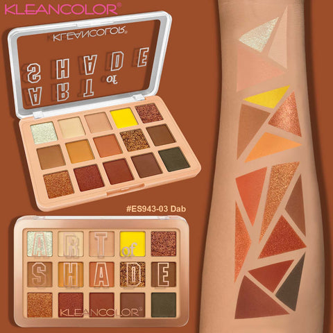 Kleancolor - Art Of Shade Palette Dab