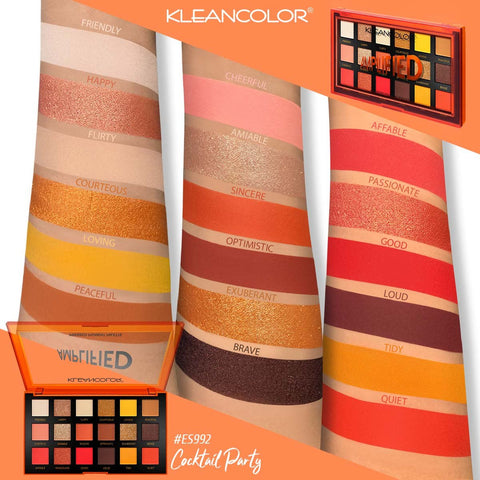 Kleancolor - Amplified Pressed Pigment Palette Cocktail Party