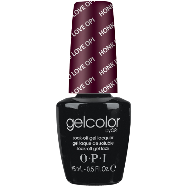 "OPI GelColor ""Honk If You Love OPI"""