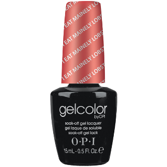 "OPI GelColor ""I Eat Mainely Lobster"""