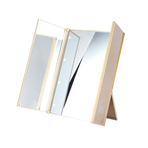 Lurella Cosmetics - LED Kickstand Mirror Gotti Gold