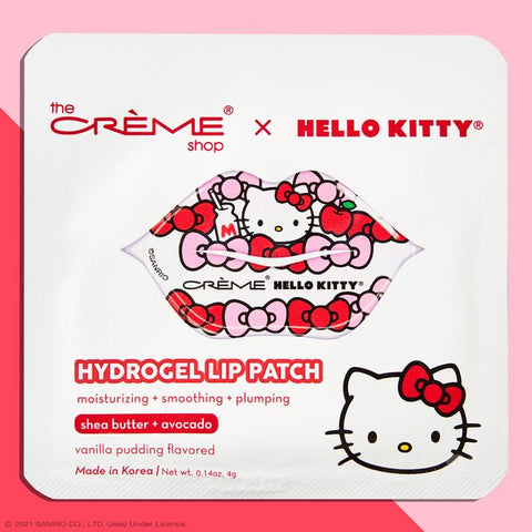 The Creme Shop - Hello Kitty Hydrogel Lip Patch Vanilla Pudding Flavored