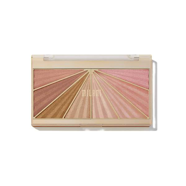 Milani Cosmetics - Luminoso Glow Shimmering Face Palette