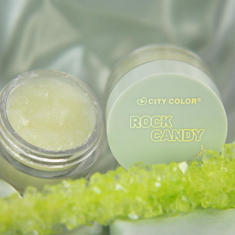 City Color - Rock Candy Lip Scrub Green Apple