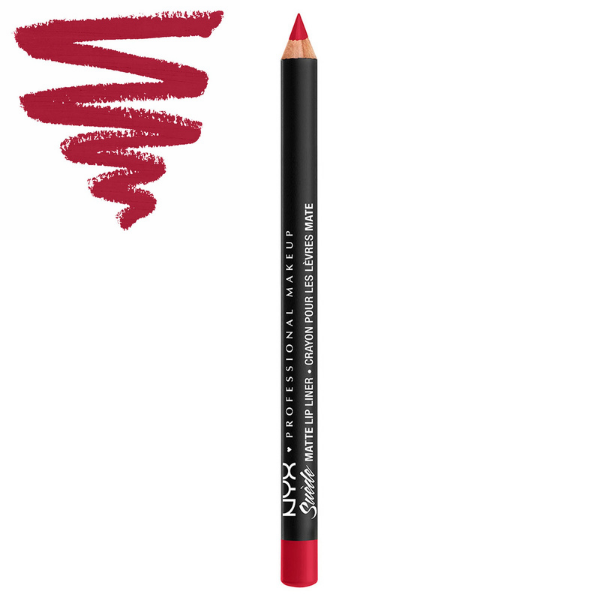 NYX - Suede Matte Lip Liner Spicy