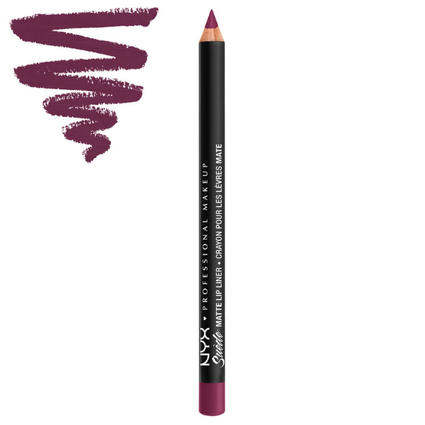 NYX - Suede Matte Lip Liner Girl, Bye