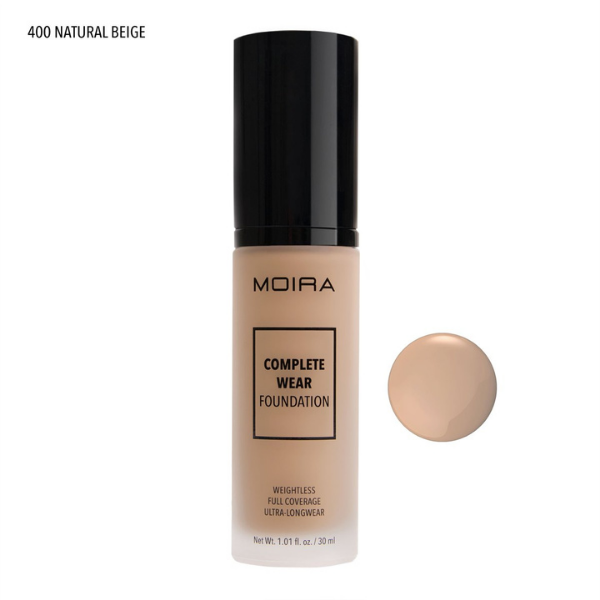 Moira Beauty - Complete Wear Foundation Natural Beige