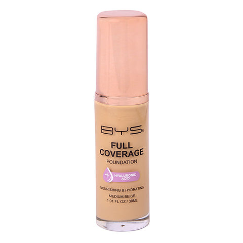 BYS - Full Coverage Foundation Medium Beige