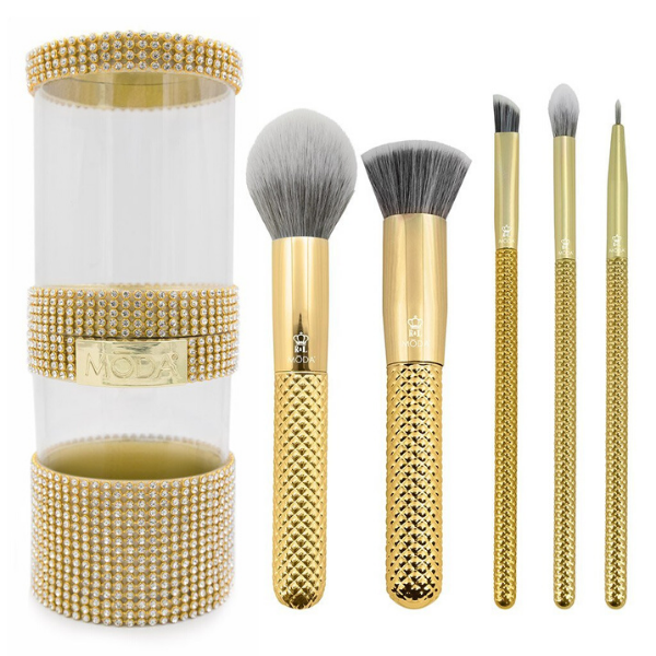 Moda - Metallics 6pc Gold Full Face Kit