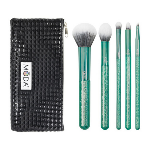 Moda - Metallics 6pc Crackle Kit Emerald