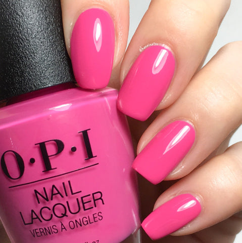 OPI 2018 Lisbon 'No Turning Back From Pink Street'