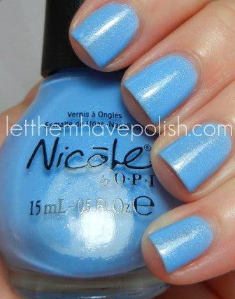 Nicole by OPI Kardashian Kolor 'Nothing Kim-pares to Blue'