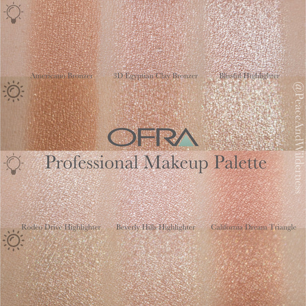 Ofra Cosmetics On The Glow Highlighter Palette