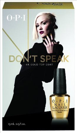 OPI 2014 Gwen Stefani Holiday 'Don't Speak' 18K Gold Top Coat