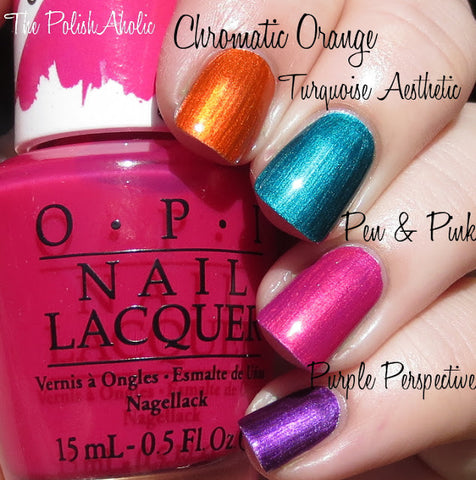 OPI Color Paints 'Turquoise Aesthetic'