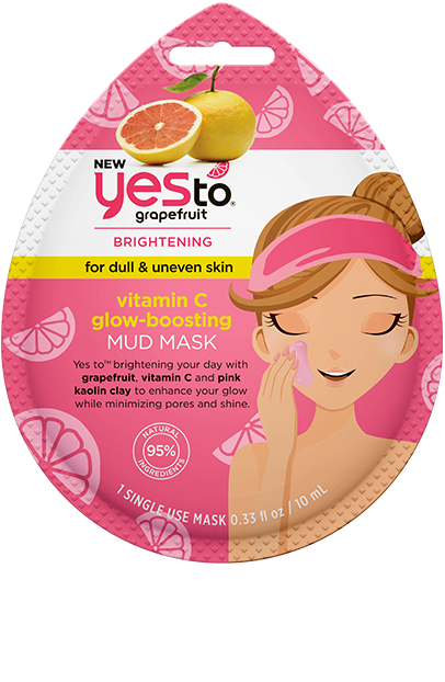 Yes To - Grapefruit Vitamin C Glow-Boosting Mud Mask