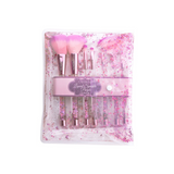 Beauty Creations - Purple Liquid Sparkle 7pc Brush Set