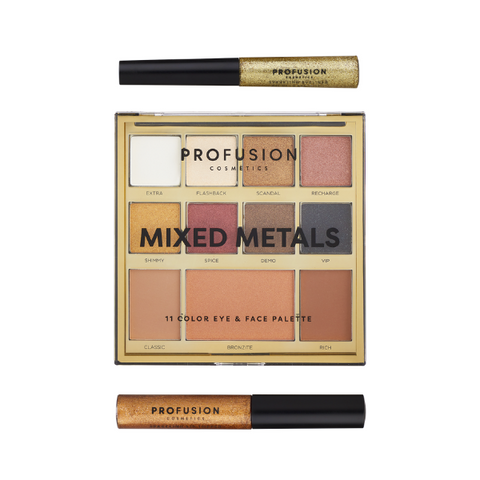 Profusion - Mixed Metals Face Kit Gold Chrome