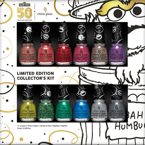 China Glaze - Holiday Collection This Is My Street 6pc Mini Kit
