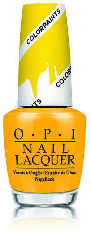 OPI Color Paints 'Primarily Yellow'