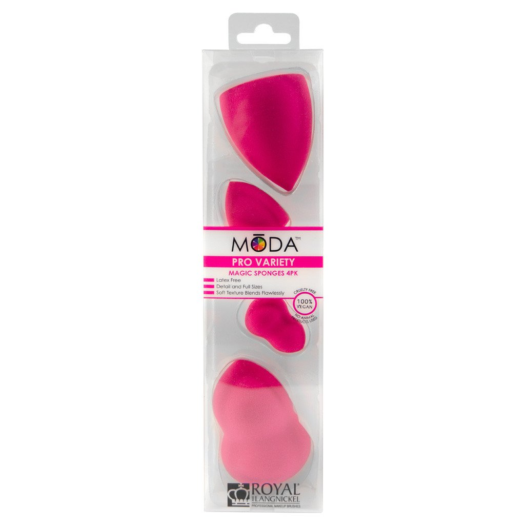 Moda - Pro Variety Magic Sponges 4 Pack