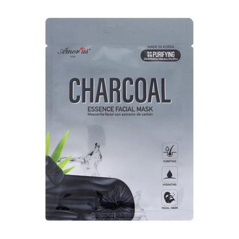 Amor US - Face Sheet Mask Charcoal Essence