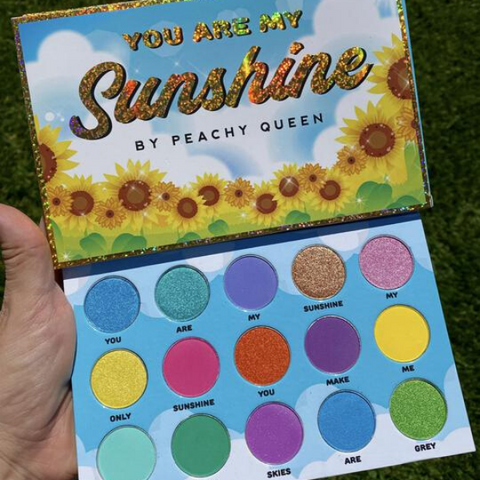 Peachy Queen - You Are My Sunshine Palette