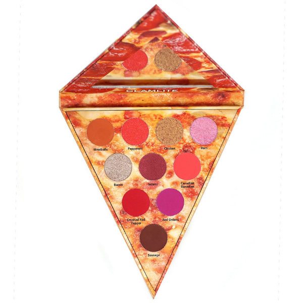 Glamlite Cosmetics - Pizza Slice Meat Lovers Palette