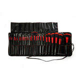 Beauty Creations - 24pc Brush Set Lady In Red