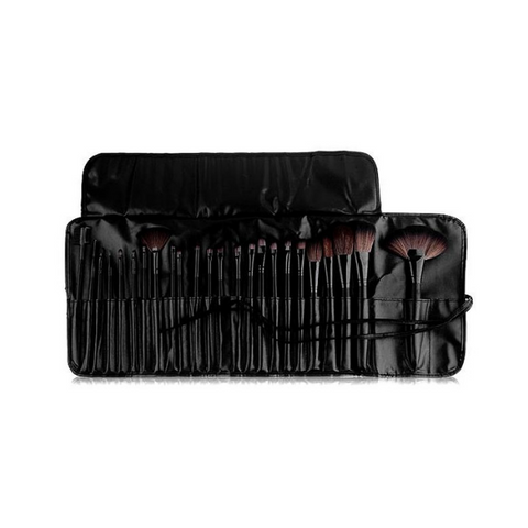 Beauty Creations - 24pc Brush Set Black Widow