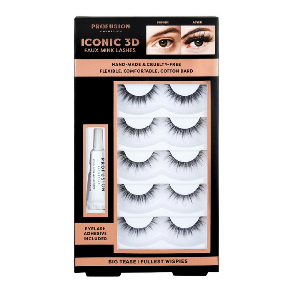 Profusion - Iconic 3D Faux Mink Lashes Big Tease