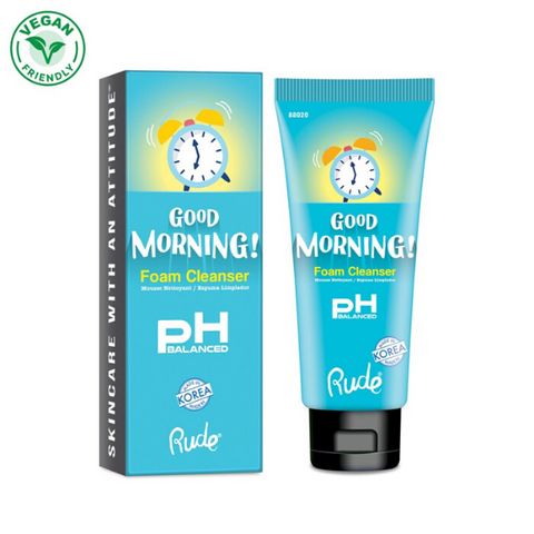 Rude Cosmetics - Good Morning! Foam Cleanser - pH Balanced