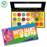 Rude Cosmetics - United Shades of Glitter Palette