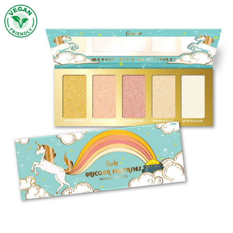Rude Cosmetics - Unicorn Fantasies Highlighter Palette