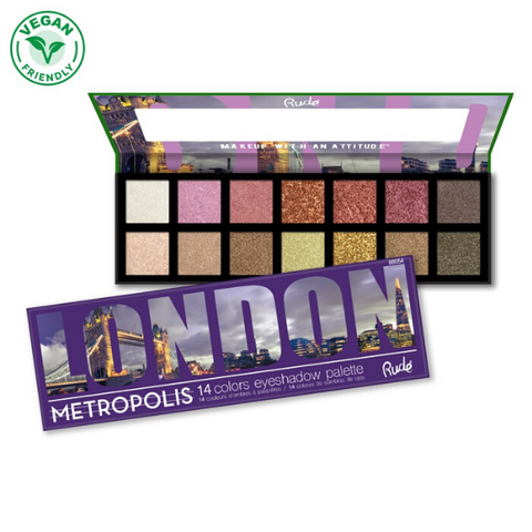 Rude Cosmetics - London Palette